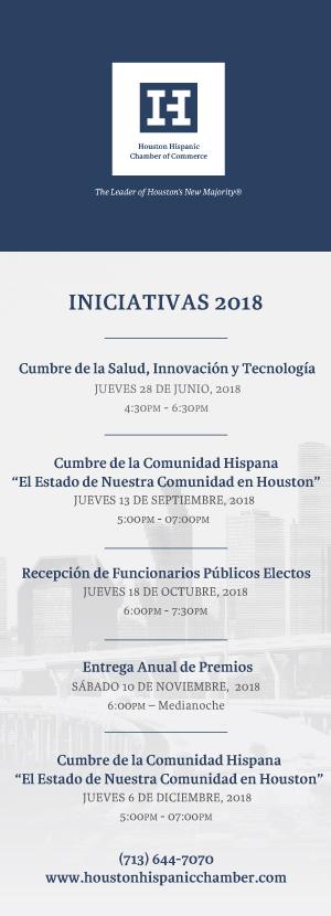Iniciativas 2018 - The Houston Hispanic Chamber of Commerce